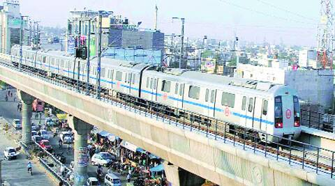 DMRC said a cable fault gave rise to smoke and that there was no fire or any danger to commuters. (Express archive)
