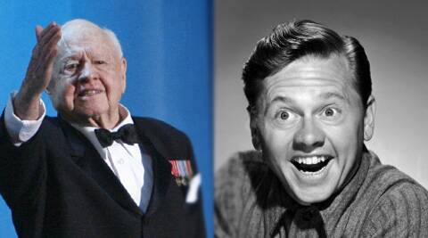 Mickey Rooney was best known for his role as Andy Hardy.