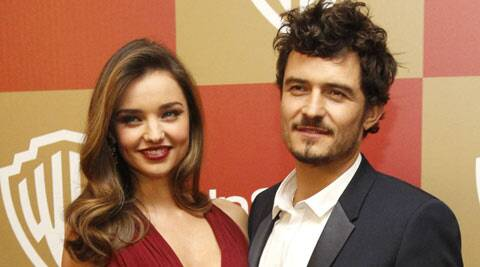Supermodel Miranda Kerr feels lucky to have actor Orlando Bloom in her life as she thinks that his presence is crucial for the growth of their three-year-old son Flynn. (Reuters)
