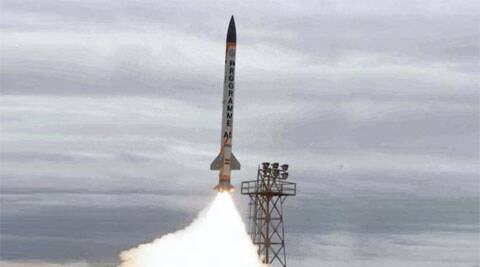 The interceptor missile is capable of neutralising any incoming long-range missile at higher altitude. ( File photo: PTI)