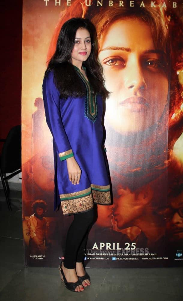 Subhash Ghai, Rishi Kapoor, Mishti promote 'Kaanchi'