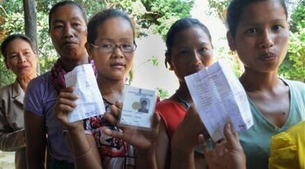 Tight security for voting in Mizoram