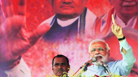 This time Congress ruled states will end up in single digit, said Narendra Modi. (PTI)
