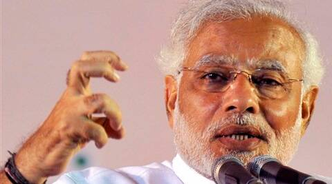 NDA Government will link Cauvery and Ganga, said Narendra Modi. (PTI)