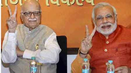 Advani is not on the best of terms with Modi after he opposed Gujarat chief minister's anointment as BJP's PM candidate recently. (PTI)