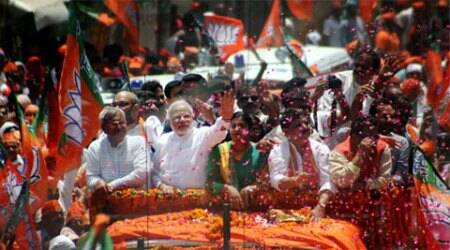 Modi on Thursday filed his nomination papers from Varanasi Lok Sabha seat, saying he had been called by 'mother Ganga' to contest from this holy city.