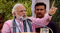 Narendra Modi attacks Amrinder Singh for 'hiding' foreign bank account detail