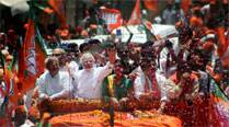 Narendra Modi files nomination papers from Varanasi