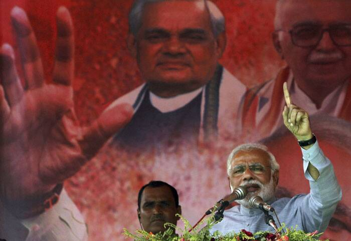 The 9-phase Lok Sabha elections began on April 7 to elect a new government at the Centre. (AP)