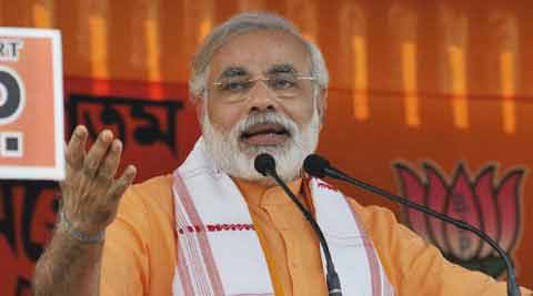 We urge you to elect the candidates of BJP and our allies from all 40 seats in Bihar, said Narendra Modi. (Reuters)