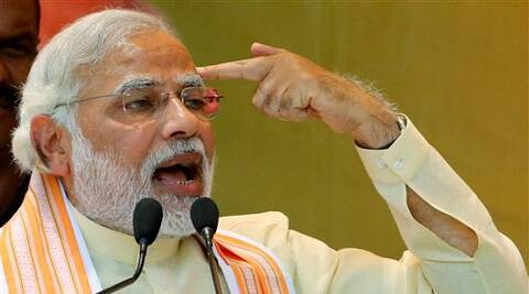 Modi promised to cleanse the political system and Parliament from criminal elements. (PTI)