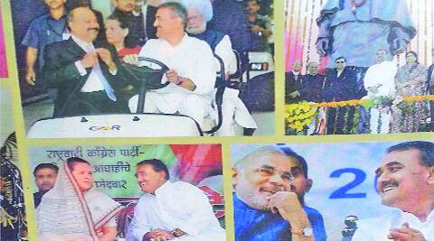 The booklet with the picture of Narendra Modi.
