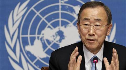 UN chief Ban Ki-moon. (Reuters)