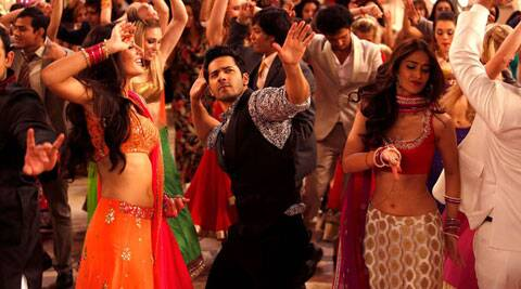 Main Tera Hero movie review: Varun tries everything in his repertoire to be this hero.