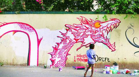 The artist duo has been painting murals in Bandra and plan to expand to other suburbs.