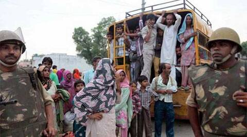 627 polling centres of riot-affected 20 villages have been declared sensitive. (PTI)