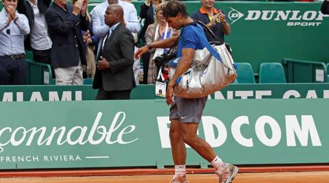 Rafael Nadal's 30-match claycourt winning streak ended when he was stunned 7-6(1) 6-4 by David Ferrer. (Reuters)