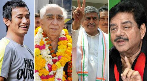 While Nandan Nilekani is pitted against Ananth Kumar, Jaswant Singh is contesting as independent against BJP's Sonaram.
