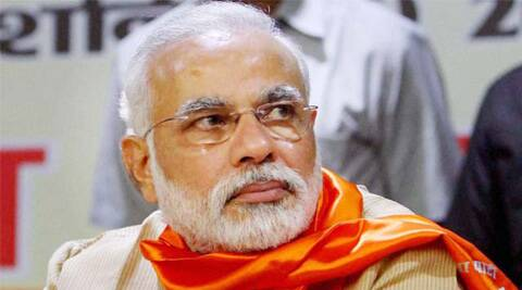 Modi is declaring that he would deal with the menace of black money when he becomes the Prime Minister.