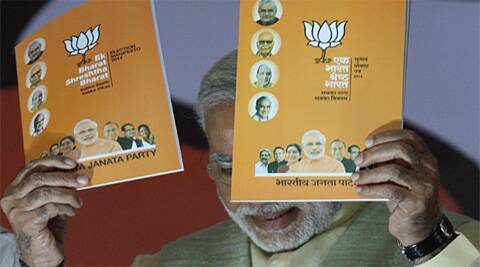 Several sections of the manifesto were also a throwback to the promises the party had made in Gujarat before the 2012 assembly elections. Neeraj Priyadarshi