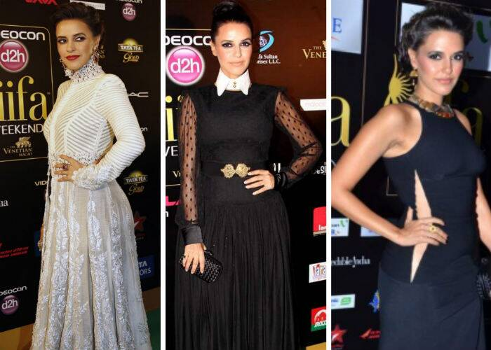Stylista Neha Dhupia reminded us once again last year at Macau, why she is one of the best dressed in the industry. The actress wore a floor-length white jacket by Anamika Khanna with black pants. She also wowed us with her Atsu gown on the IIFA Rocks night. At the 2012 IIFA Awards as well, Neha was a winner in a sexy black gown by Stella McCartney.