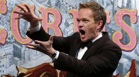 Neil Patrick Harris was allegedly angry when a besotted fan proclaimed her love for him.