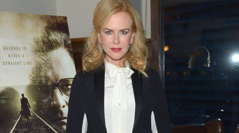 Nicole Kidman says she puts her family first than her jam-packed film career.