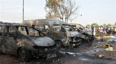 The bombing at the Nyanya bus terminal on the outskirts of Abuja was the first major attack in the capital in two years. (AP)