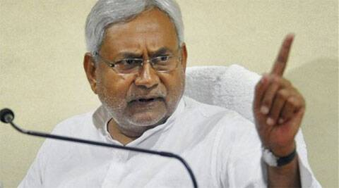 Nitish Kumar said that a leader who could not keep the country one can never do good for the country.