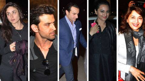 Madhuri Dixit, Kareena Kapoor and Hrithik Roshan seemed to have given more importance to the award weekend.