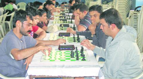 K Srinath in action against Soham Datar