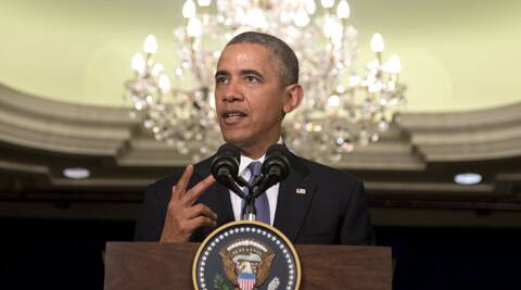 President Barack Obama speaks before participating in the signing of major commercial agreements with American businesses at the Ritz-Carlton in Kuala Lumpur, Malaysia. (AP)