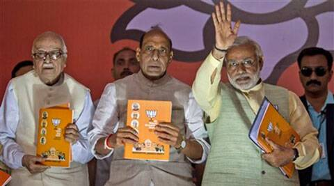 """The BJP certainly refers to increasing terror attacks in India by """"Pakistan backed terror groups"""" and affirms """"zero tolerance towards terrorism"""". (PTI)"""