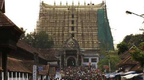 Padmanabhaswamy temple. (Reuters)