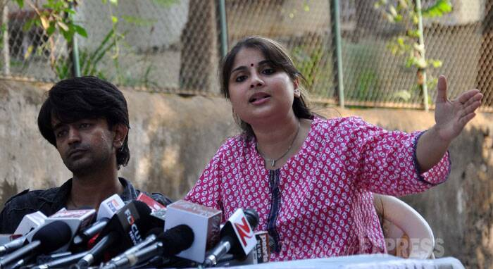 Rape accused Inder Kumar's wife Pallavi speaks in husband's defence