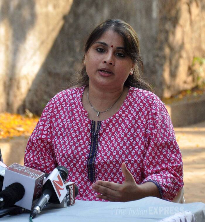 Speaking at her Andheri residence, Pallavi claims that it was in fact the victim who came to Inder's house on April 23, as well as on the next day. (Photo: Varinder Chawla)
