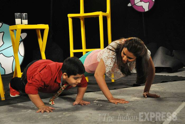 Shanti Dynamite, Parineeti are busy girls