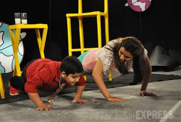 Shanti Dynamite, Parineeti are busy girls