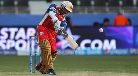 IPL 7 Live Cricket Score, KKR vs RCB: KKR lose two in a hurry against RCB