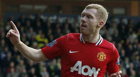 Former England midfielder Scholes retired for good at the end of last term, having come out of retirement in January 2012. (AP)