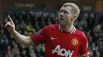 Scholes returns to help United interim manager Giggs