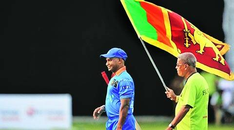FAN FOR LIFE: Sri Lanka's most famous mascot, Percy