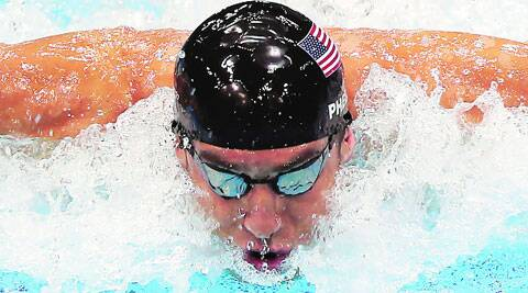 Michael Phelps will compete for the first time since the 2012 London Olympics (File)