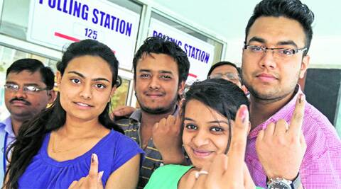 Of the total votes polled, 23 per cent were by voters in the 21 to 30 years age-group.