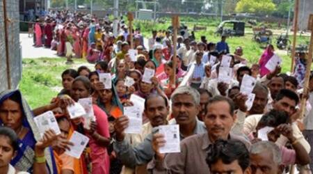 Young voters as well as senior citizens were seen lining up enthusiastically since early morning in Pune city.