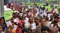 Young voters as well as senior citizens were seen lining up enthusiastically since early morning in Pune city