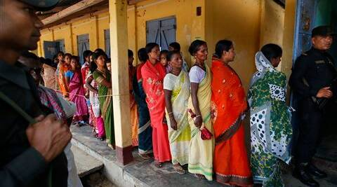 Youths, including first time voters in the state comprising 12.5 per cent of the total electorate of 7,53,150, also flocked to the booths in hordes. (AP)