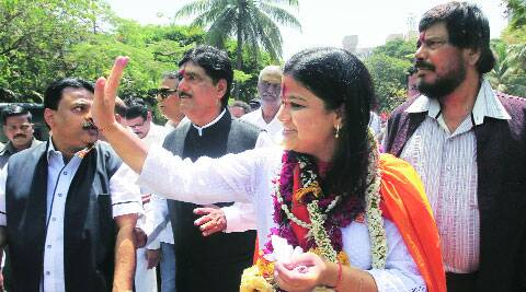 Poonam Mahajan said she would try and persuade her party to adopt a constructive line on the issue of homosexuality.