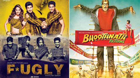 'Fugly' is a story of four friends and 'Bhoothnath Returns' is the sequel of 'Bhoothnath'.