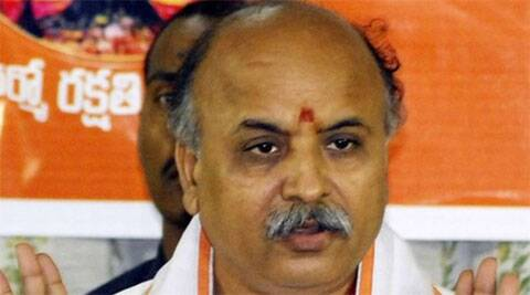 Togadia reportedly told the gathering to take forcible possession of the house purchased by a Muslim businessman.